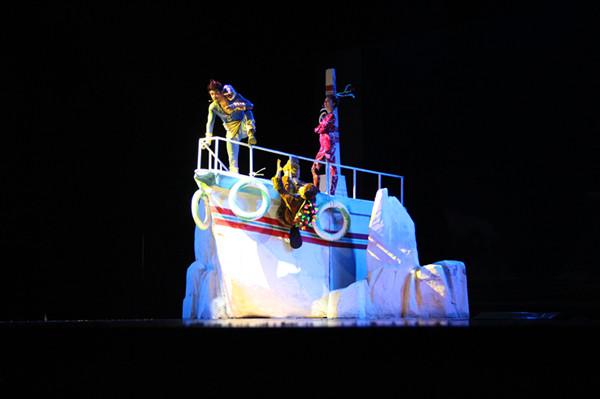 唯美欢乐海底探险儿童剧  《潜艇总动员》  剧情介绍  故事背景讲述